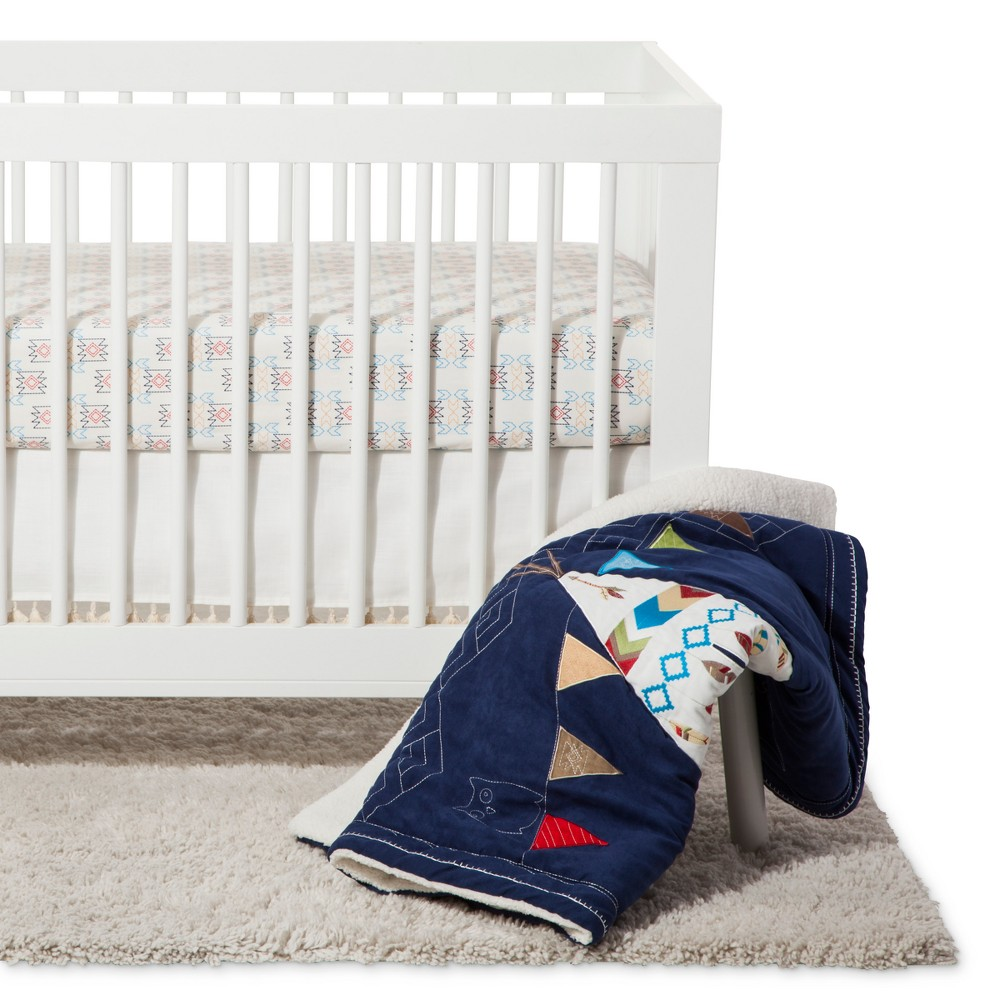 Image of NoJo Crib Bedding Set 4pc - Teepee