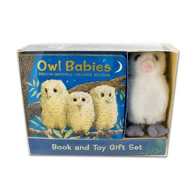Owl Babies Book and Toy Gift Set - by Martin Waddell (Mixed media product)