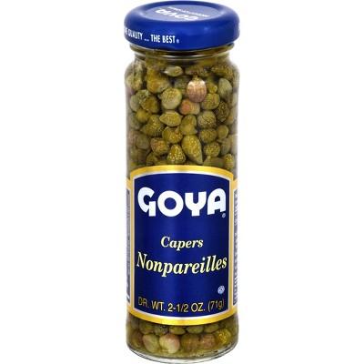 Goya Nonpareils Spanish Capers 2.25oz