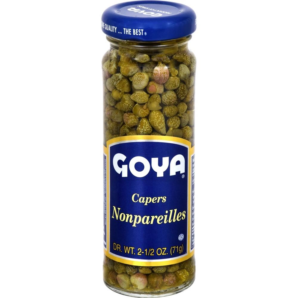 Goya Nonpareils Spanish Capers 2.25 oz