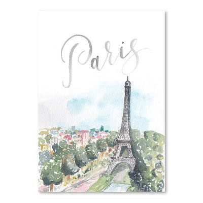 Americanflat Paris by Cami Monet Poster