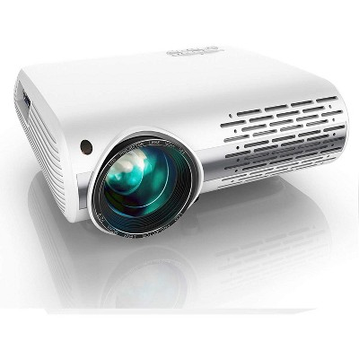 Yaber Y30 Native 1080P Projector 7200L Full HD Video Projector 1920 x 1080, ±50° 4D Keystone Correction Support 4k & Zoom, LCD LED Home Theater Projector Compatible with Phone,PC,TV Box,PS4