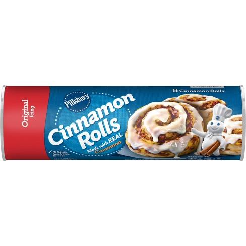 Pillsbury Cinnamon Rolls With Icing 12 4oz 8ct Target