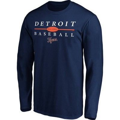 MLB Detroit Tigers Men's Long Sleeve Core T-Shirt