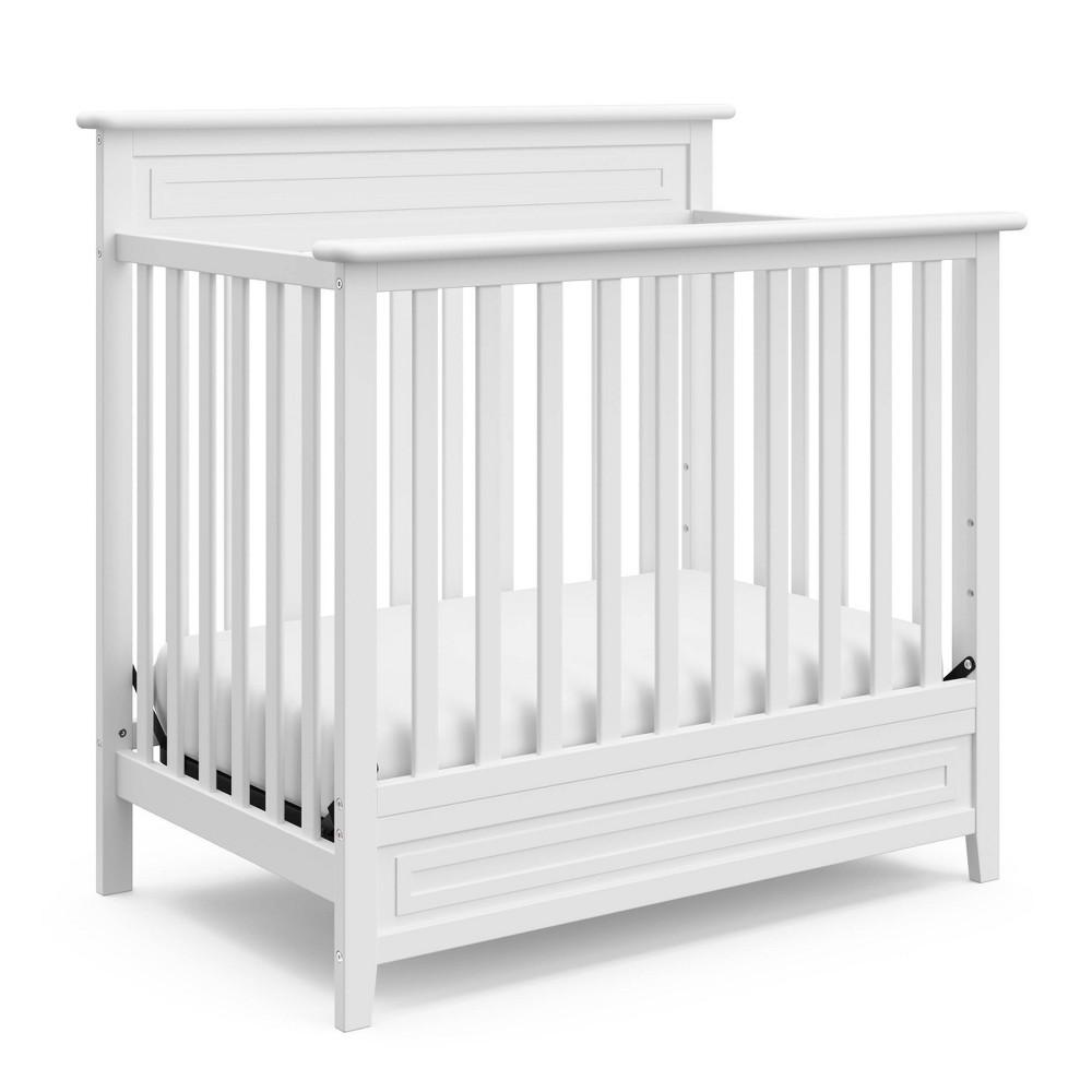 Storkcraft Petal Convertible Mini Crib With 3 Mattress - White Compare