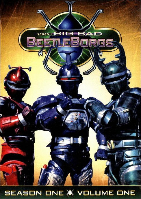 Big bad beetleborgs:Season one vol 1 (DVD) - image 1 of 1