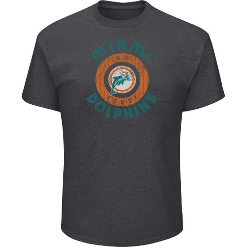 NFL Miami Dolphins Men s Startling Success Gray Soft Touch T-Shirt a890fab24