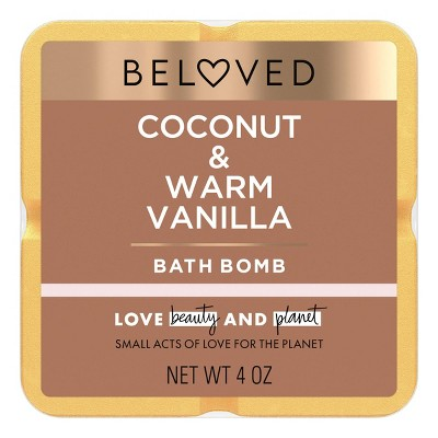 Beloved Coconut & Warm Vanilla Bath Bomb - 1ct/3.9oz
