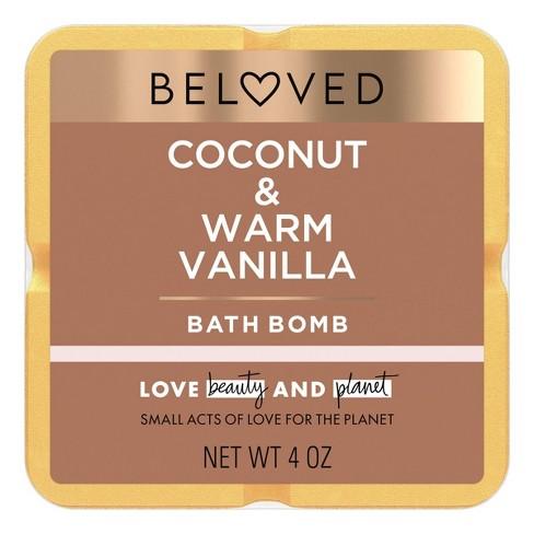 Beloved Coconut & Warm Vanilla Bath Bomb - 1ct/3.9oz - image 1 of 4