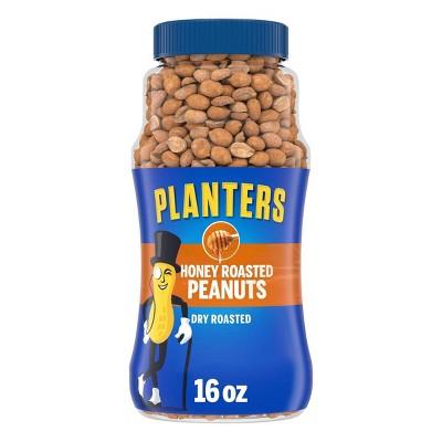 Planters Honey Dry Roasted Peanuts - 16oz