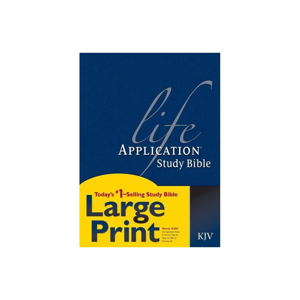Life Application Study Bible Kjv Large Print Hardcover