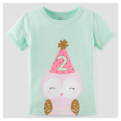 Toddler Girls' 2 T-Shirt - Just One You™ Made by Carter's® Mint 3T