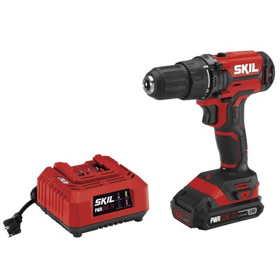 Skil DL527502 20V PWRCore 20 Lithium-Ion Brushless 1/2 in. Cordless Drill Driver Kit (2 Ah)