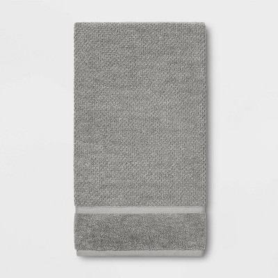 Performance Texture Bath Sheet Gray - Threshold™