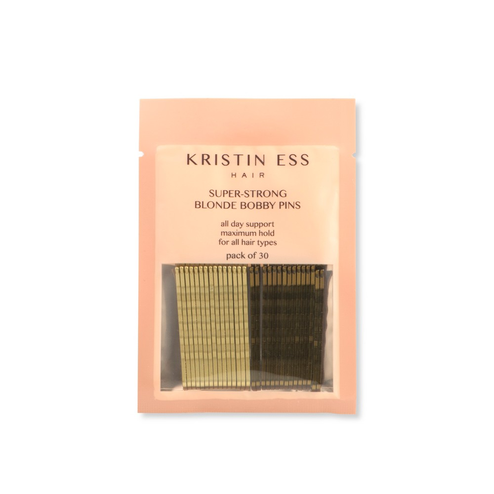 Kristin Ess Super-Strong Blonde Bobby Pins - 30ct