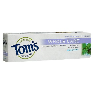 Toms of Maine Whole Care Peppermint - 4oz