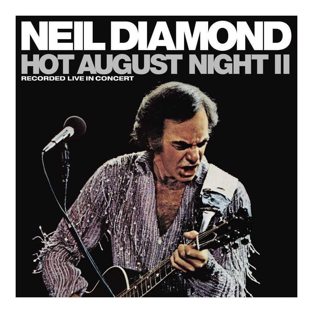 Neil Diamond Hot August Night Ii 2 Lp Vinyl