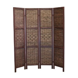 Saigon Room Divider Screen 4 Panel - Proman Products
