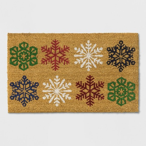 "1'6""X2'6"" Tufted Snowflakes Doormat - Wondershop™ - image 1 of 2"