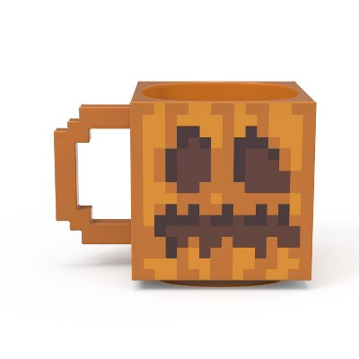 Zak Designs 13oz Minecraft Halloween Ceramic Sculpted Mug