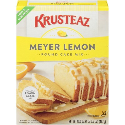 Baking Mixes: Krusteaz Meyer Lemon Pound Cake Mix
