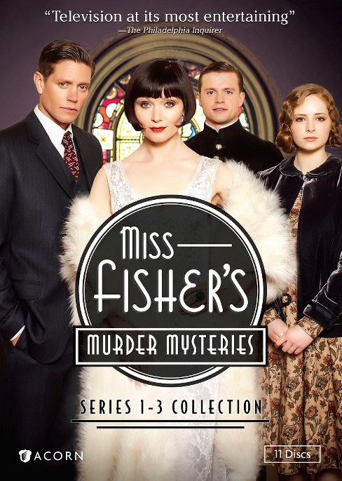 Miss fisher's murder mysteries:1-3 co (DVD) - image 1 of 1