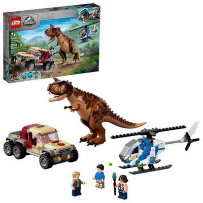LEGO Jurassic World Carnotaurus Dinosaur Chase 76941 Building Kit