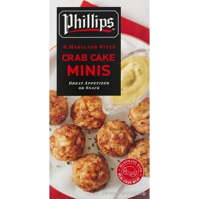 Phillips Frozen Mini Crab Cakes - 6oz