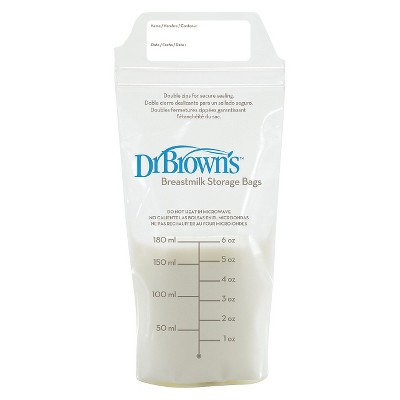 Dr. Brown's Breast Milk Storage Bags - 50ct