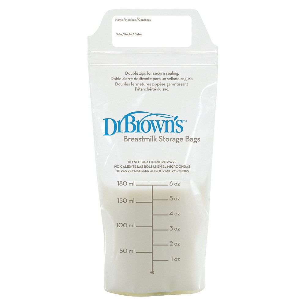 Image of Dr. Brown's Breast Milk Storage Bags - 50ct