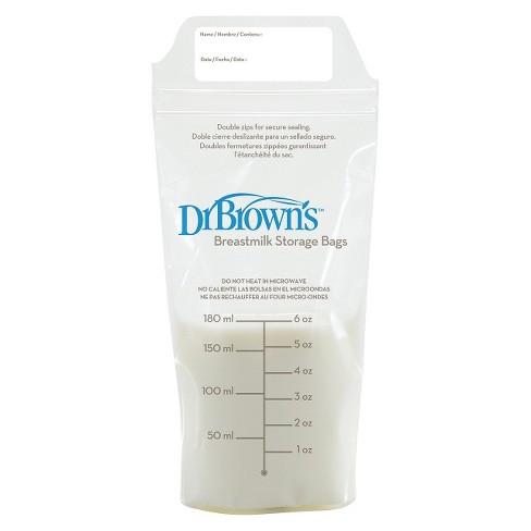 Dr Brown S T Milk Storage Bags 50ct