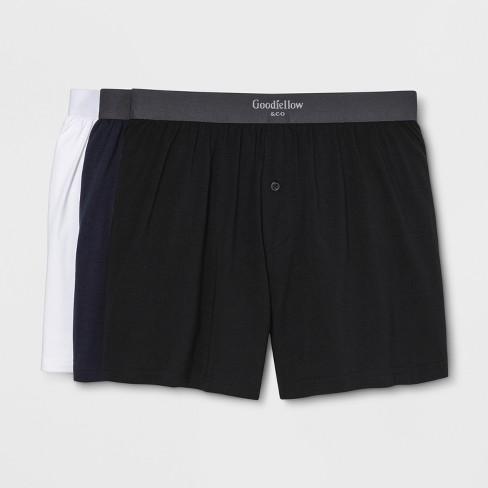 Men's Premium Knit Boxer Shorts 3pk - Goodfellow & Co™ - image 1 of 1