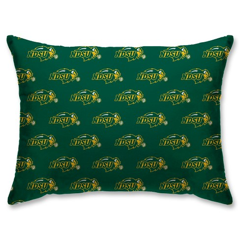 NCAA North Dakota State Bison Super Plush Repeat Logo Bed Pillow - image 1 of 1