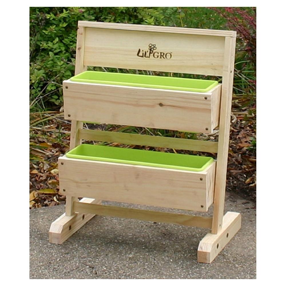 Lil' Gro 15 x 24 x 12 Single Vertical Grow System - Green