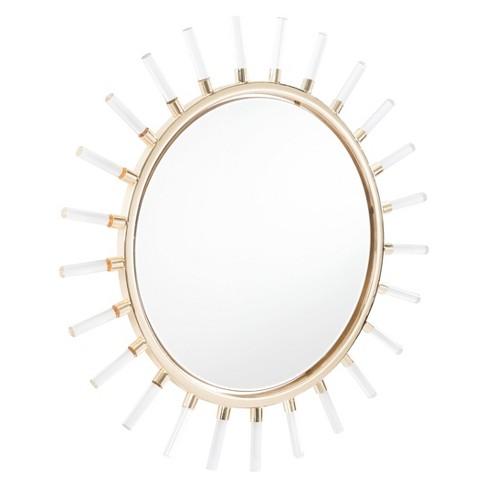 Zm Home 35 Modern Sunburst Round Mirror Gold Target