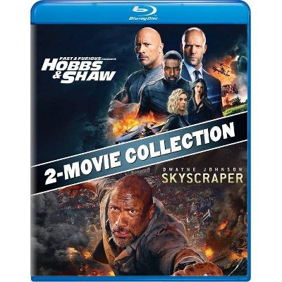 Fast & Furious Presents: Hobbs & Shaw/Skyscraper 2-Movie Collection (Blu-ray)
