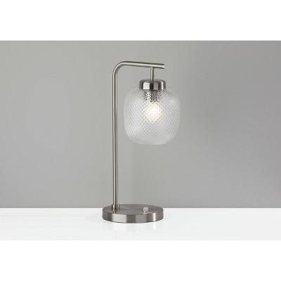 Vivian Desk Lamp Silver - Adesso