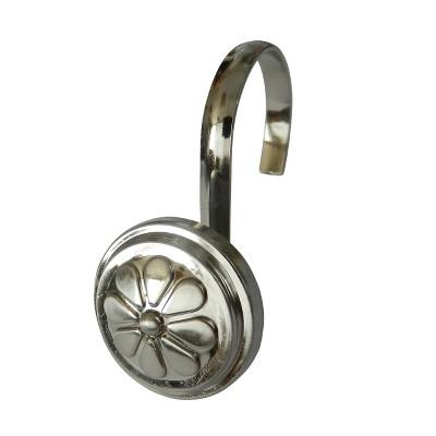 Wagon Wheel Shower Hooks - Elegant Home Fashions