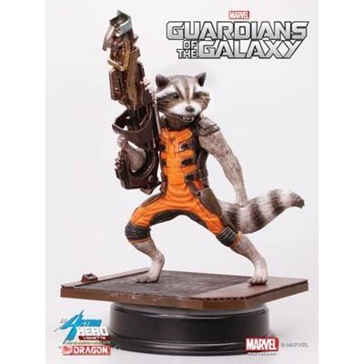 Dragon Models Marvel's Guardians of the Galaxy 1:9 Action Hero Vignette: Rocket Raccoon