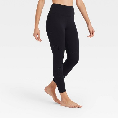 Women's Ultra High-Rise Laser Cut 7/8 Leggings - JoyLab™