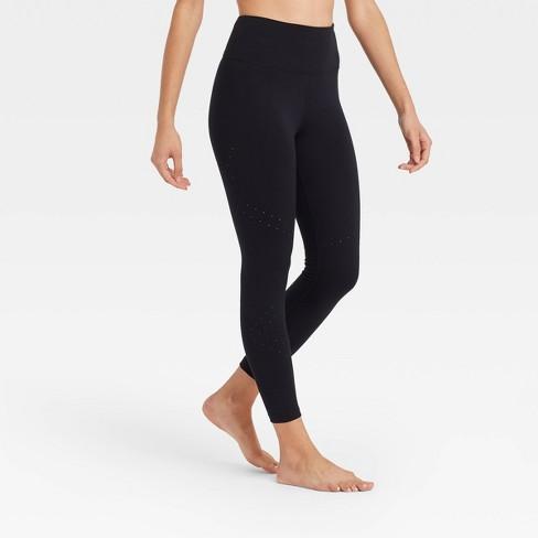 Women's Ultra High-Rise Laser Cut 7/8 Leggings - JoyLab™ - image 1 of 2