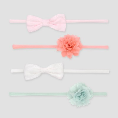 Baby Girls' 4pk Headbands - Just One You® made by carter's