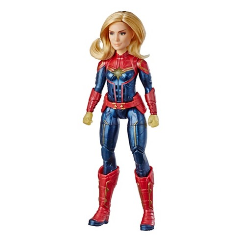 Captain Marvel Light-Up Doll by Hasbro