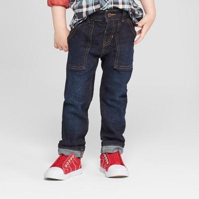Genuine Kids® from OshKosh Toddler Boys' Skinny Jeans - Dark Wash 2T