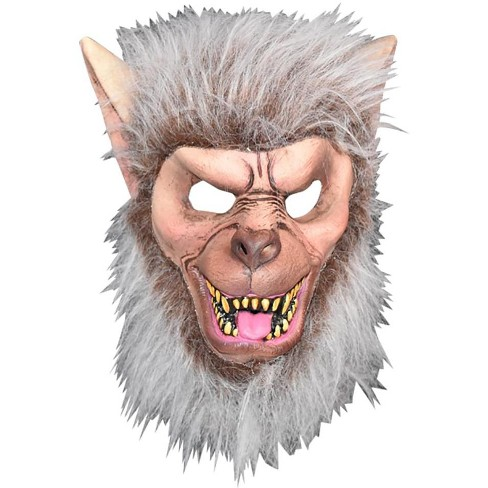 Trick Or Treat Studios Don Post Classics Timberwolf Child Latex Costume  Half-Mask