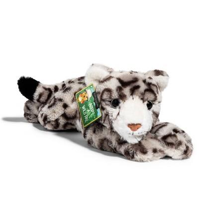 "FAO Schwarz Adopt A Wild Pal Endangered Snow Leopard - 15"" Toy Plush"