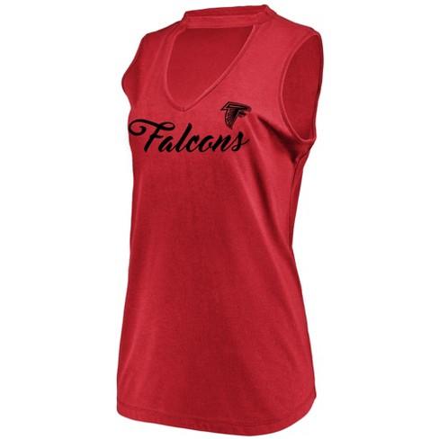 NFL Atlanta Falcons Women s Constant Effort Sleeveless T-Shirt   Target 456432032