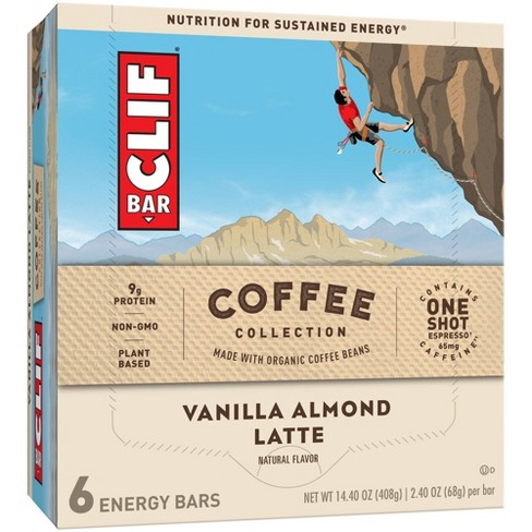 CLIF Bar Coffee Collection Vanilla Almond Latte 6ct - image 1 of 4