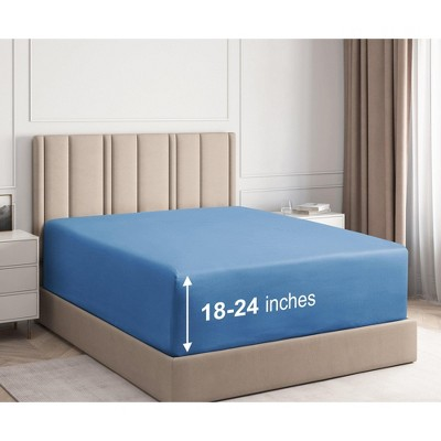 21 Inch Extra Deep Pocket Fitted Sheet - CGK Unlimited