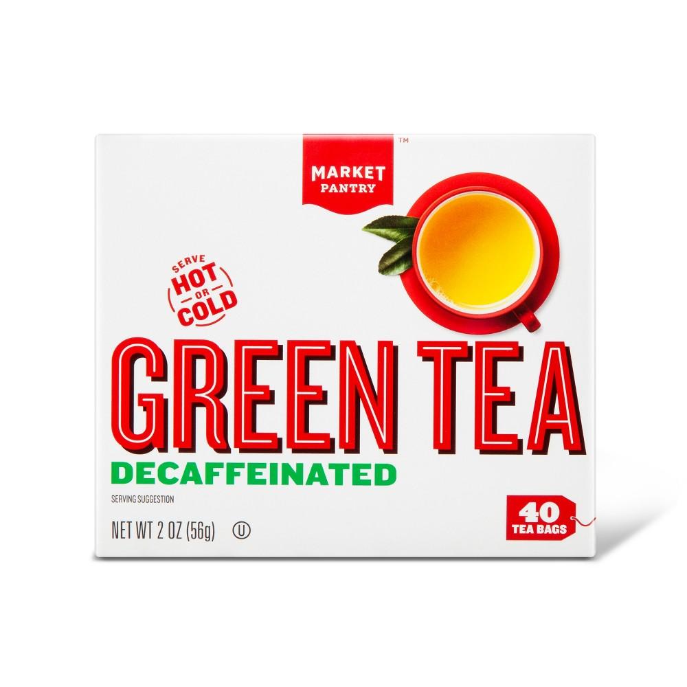 Decaf Green Tea Bags - 40ct - Market Pantry